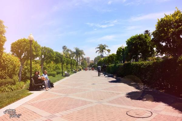 Paramount Studios Lot Walkway