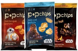 Popchips Limited Edition Star Wars Bags