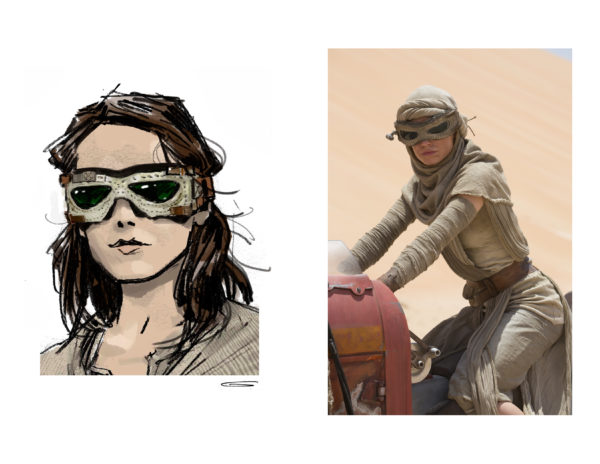 Rey Star Wars: The Force Awakens