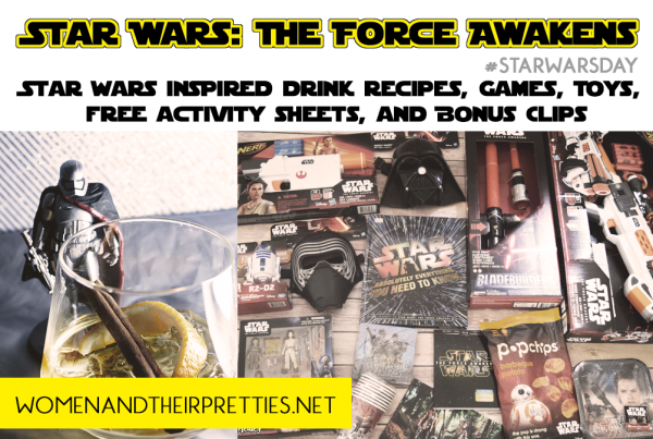 STAR WARS INSPIRED DRINKS AND PARTY SUPPLIES