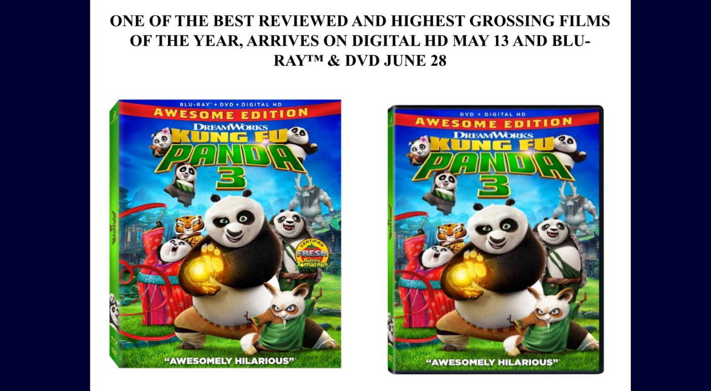 Kung Fu Panda 3 arrive on Blu-ray, DVD, & Digital HD soon & THIS is why you should be excited… #KungFuPanda3