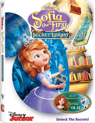 Sofia the First- The Secret Library on DVD 6:7