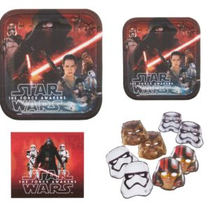 Star Wars Party for 16- Plates, Napkins, and Masks