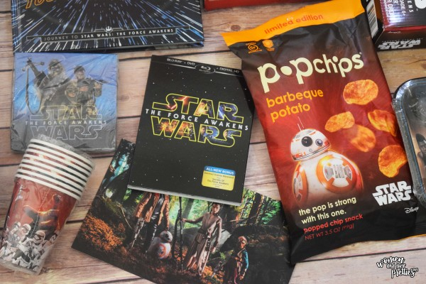 Star Wars The Force Awakens Blu-ray Combo Pack