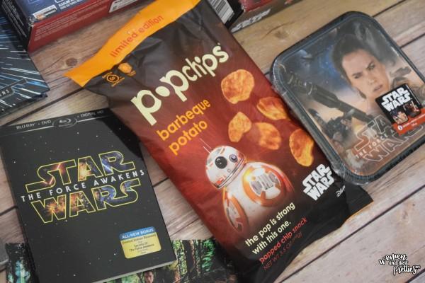 Star Wars The Force Awakens Snacks