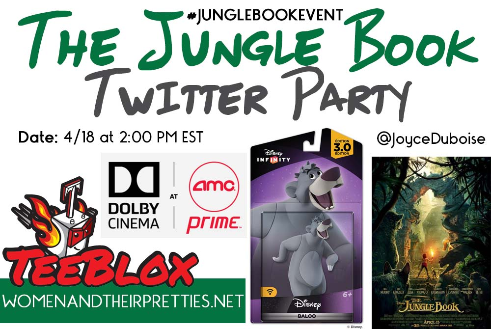 THE JUNGLE BOOK TWITTER PARTY