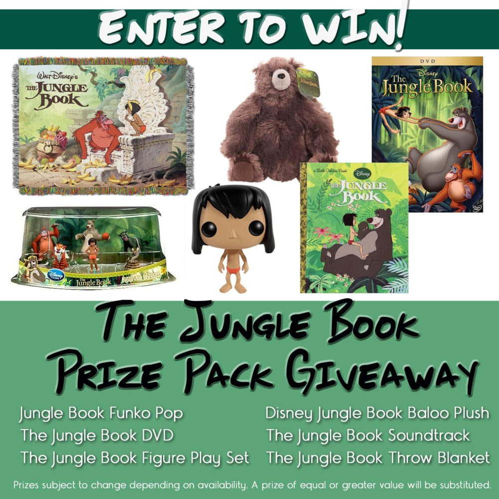 The Jungle Book Giveaway Button