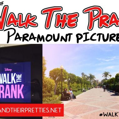 Walk The Prank Set Visit at Paramount Pictures