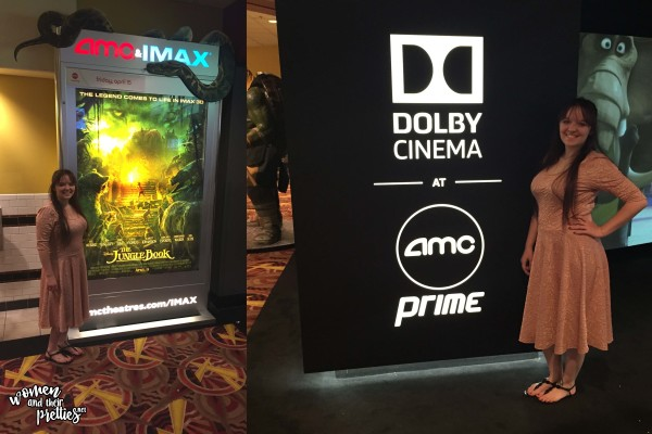 Watching The Jungle Book at Dolby Cinema AMC Prime