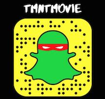 TMNTMOVie Snap Chat
