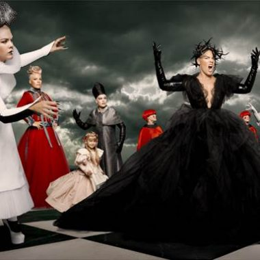 Alice Through The Looking Glass P!Nk music video