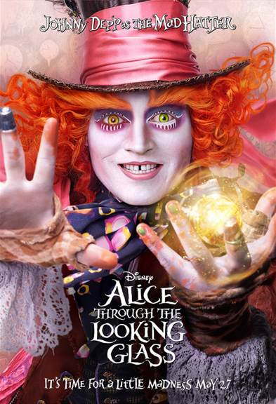 Alice Through The Looking Glass - Grab these free activity sheets