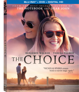 The Choice - a movie night must-have!