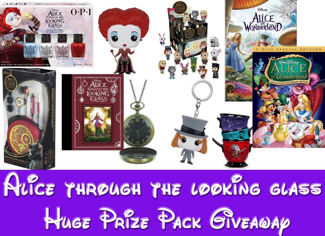 Disney's Alice Through The Looking Glass Giveaway