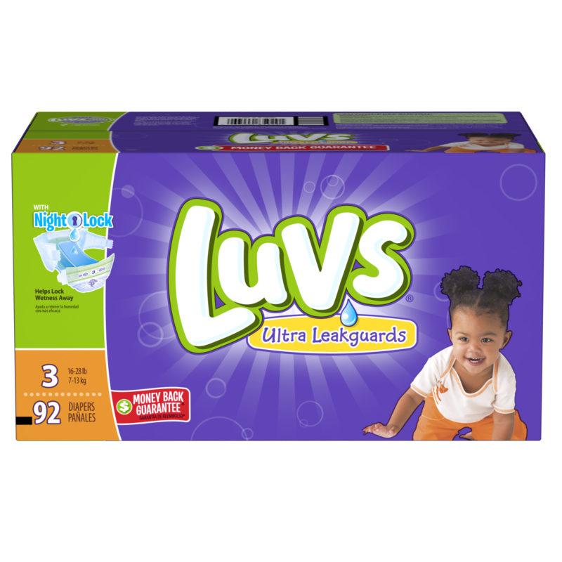 Luvs Box Product Shot