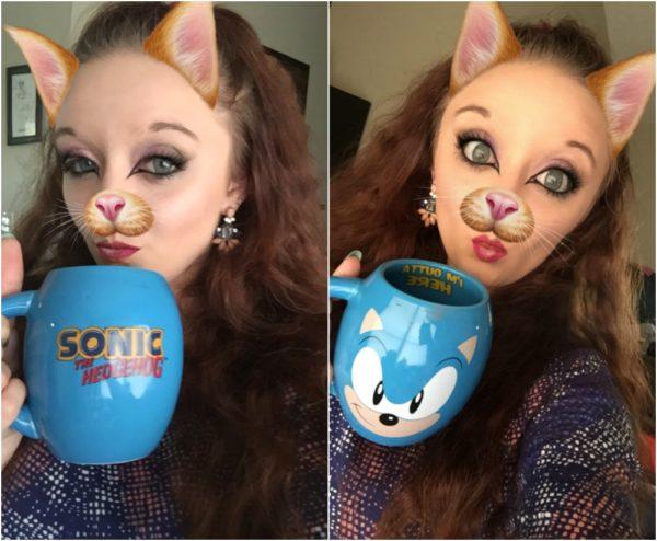 Sonic The Hedgehog Mug