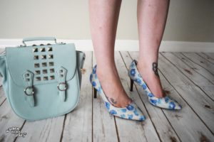 Springtime Blues Rockport Pumps