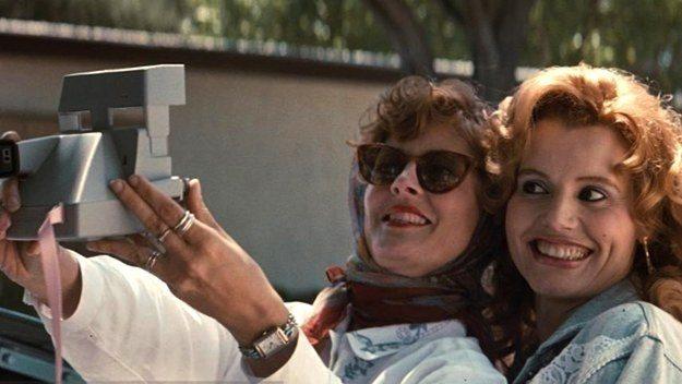 thelmaandlouise selfie