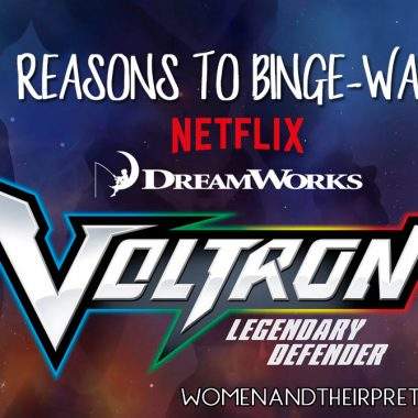 4 REASONS TO BINGE-WATCH VOLTRON LEGENDARY DEFENDER ASAP