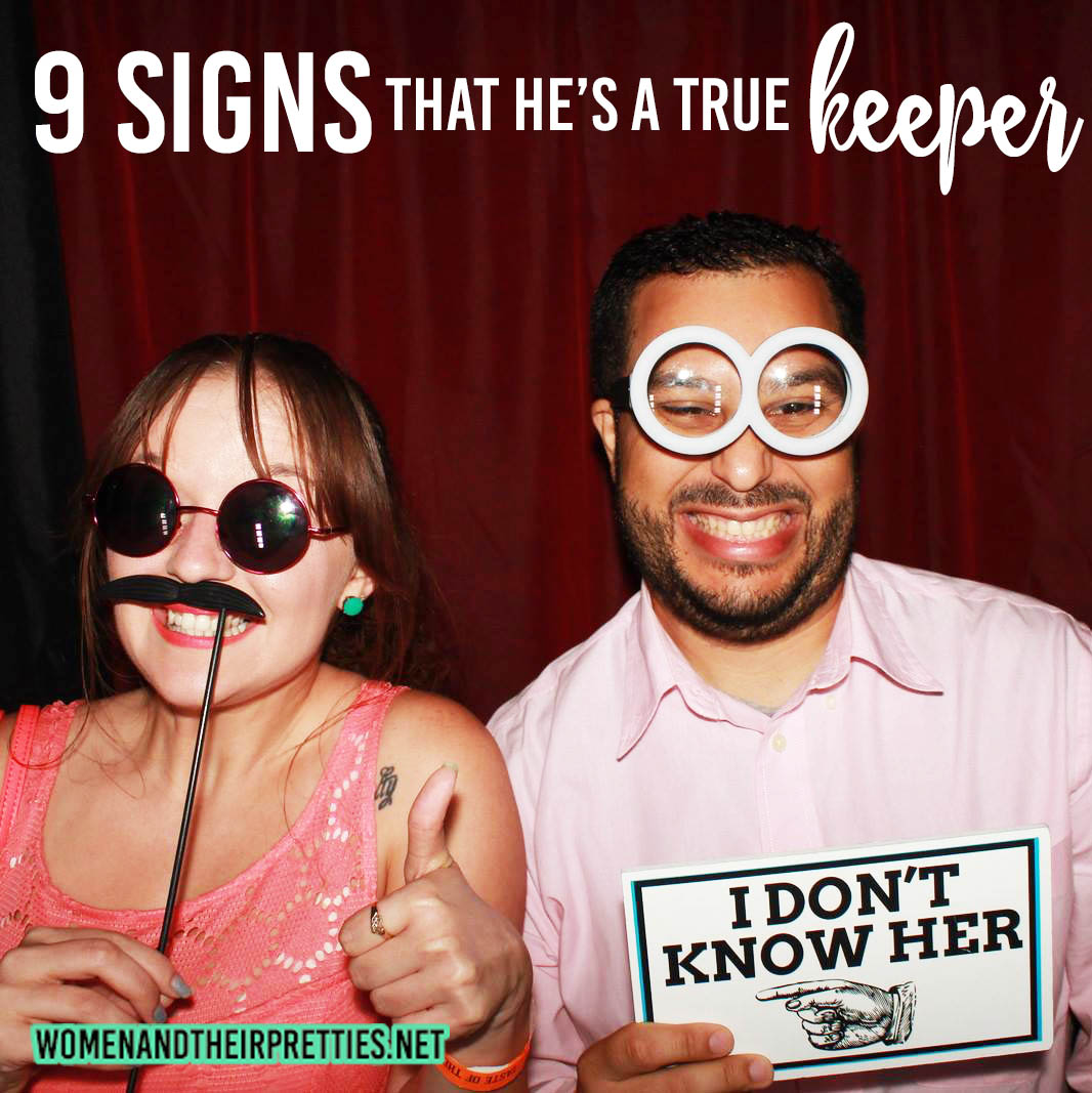 9 Signs that he's a true keeper #Love #Relationships #Romance