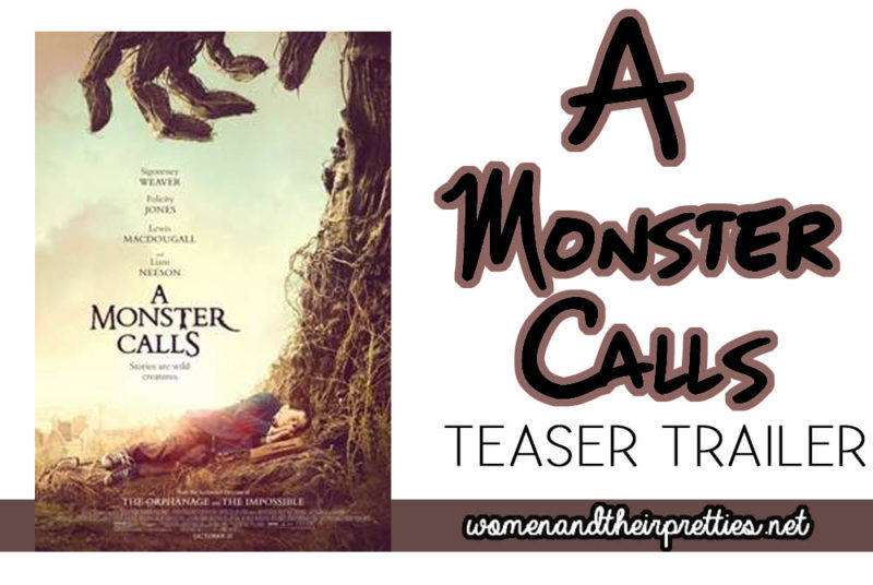 A Monster Calls Teaser Trailer - It will have you BEGGING for more!