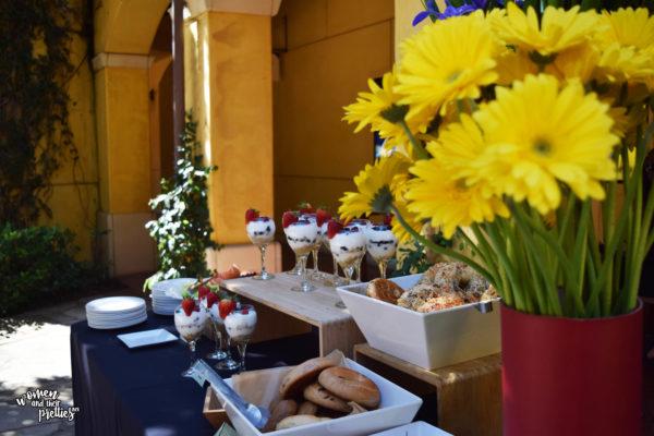 Breakfast at Voltron Press Event