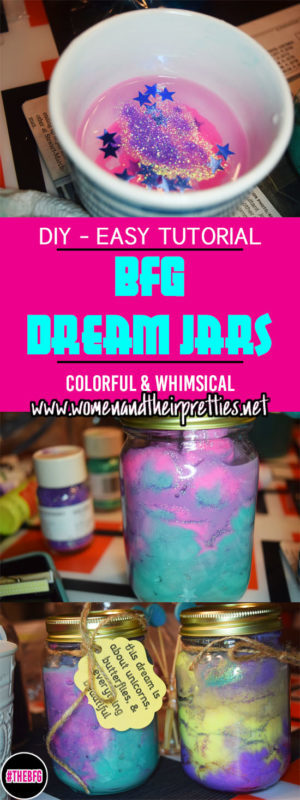 DIY BFG Dream Jars with an easy tutorial