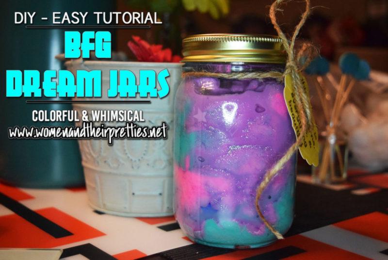 DIY BFG Dream Jars - Easy Tutorial - horizontal