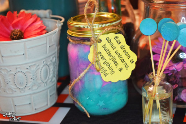 DIY BFG Dream Jars #TheBFG #DIY Put your dream jar in a pretty place