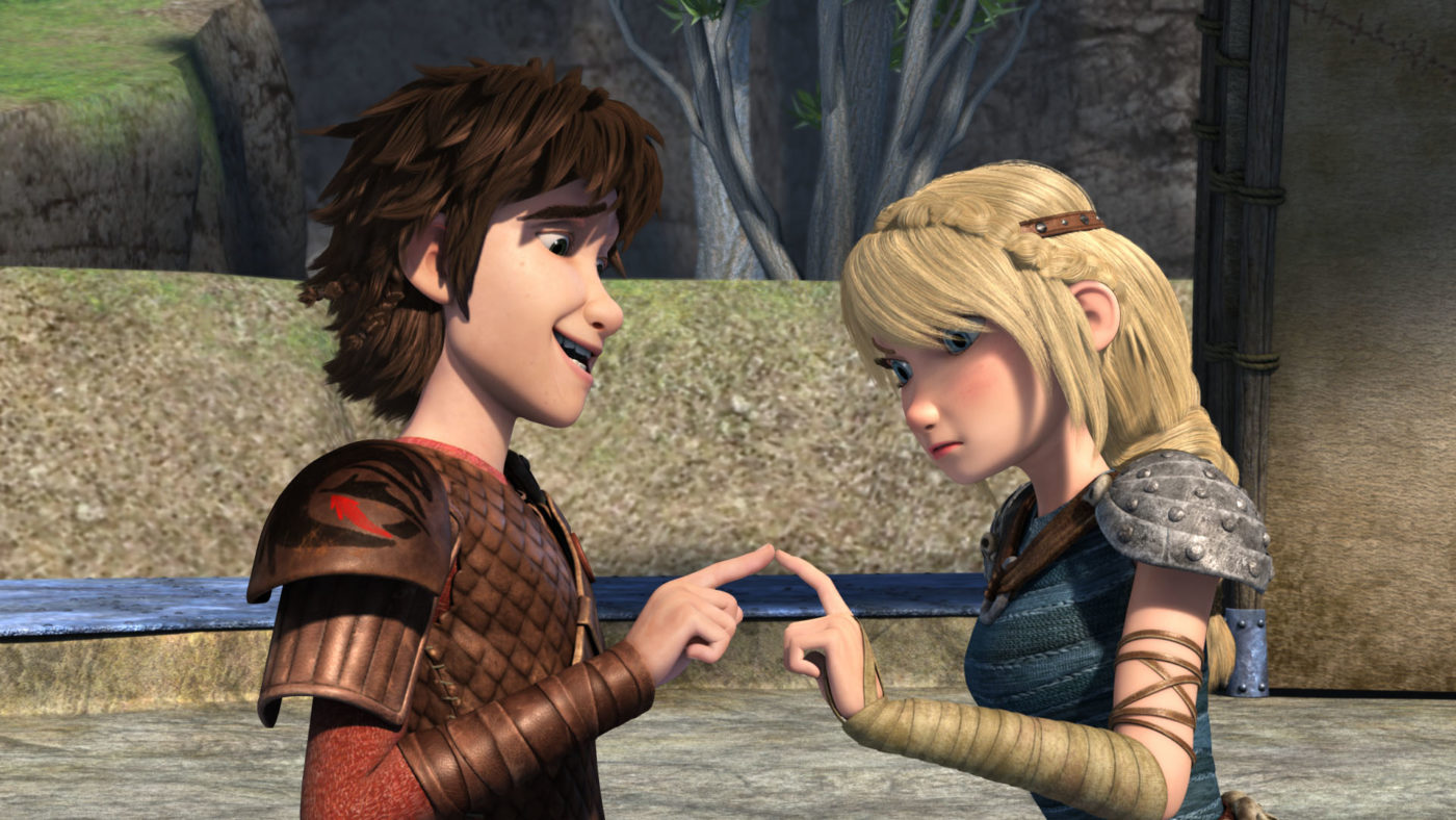New Dragon Clip & Art: Dreamworks Animation's Dragons: Race to the Edge Season 3 Premiere