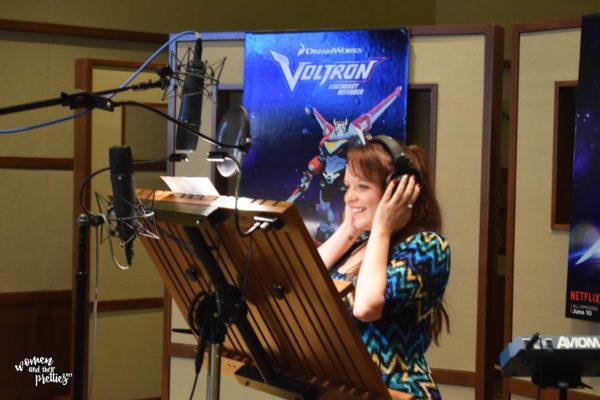 DreamWorks Voltron Voiceover