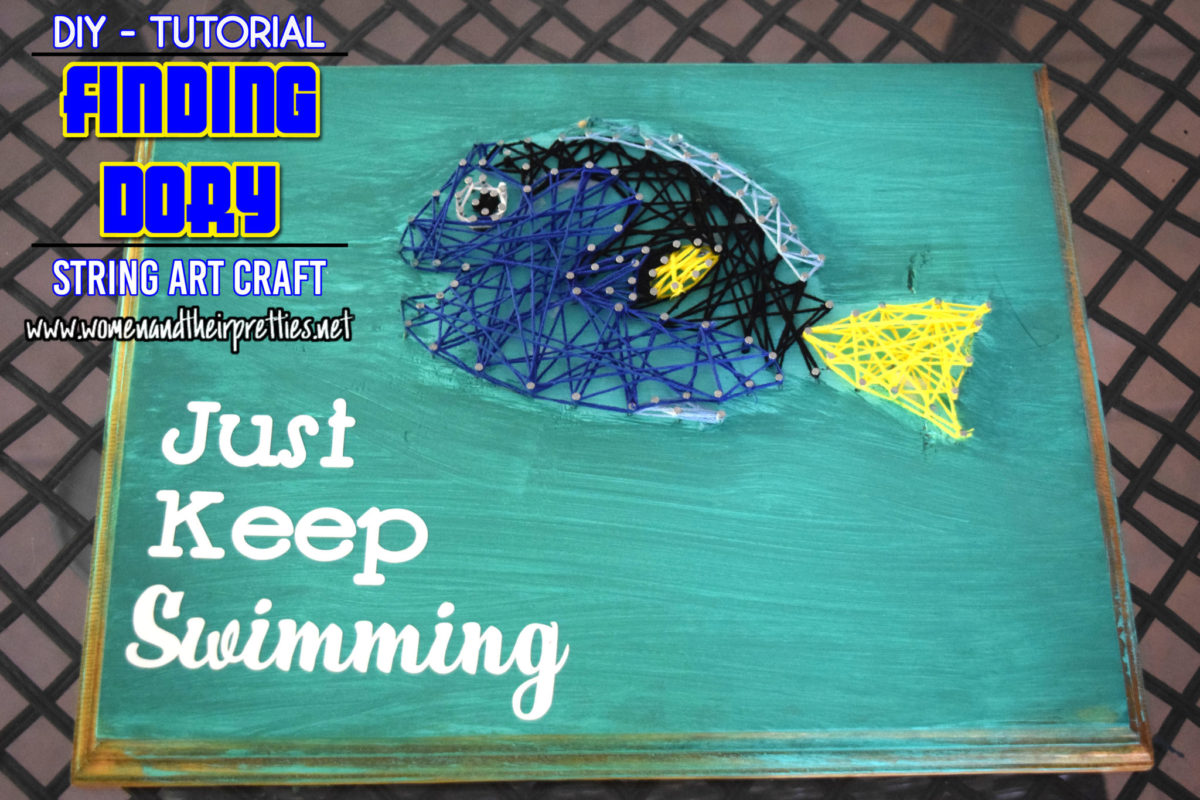Finding Dory Craft Tutorial Featured Image