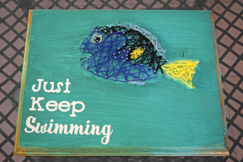 Finding Dory String Art Craft