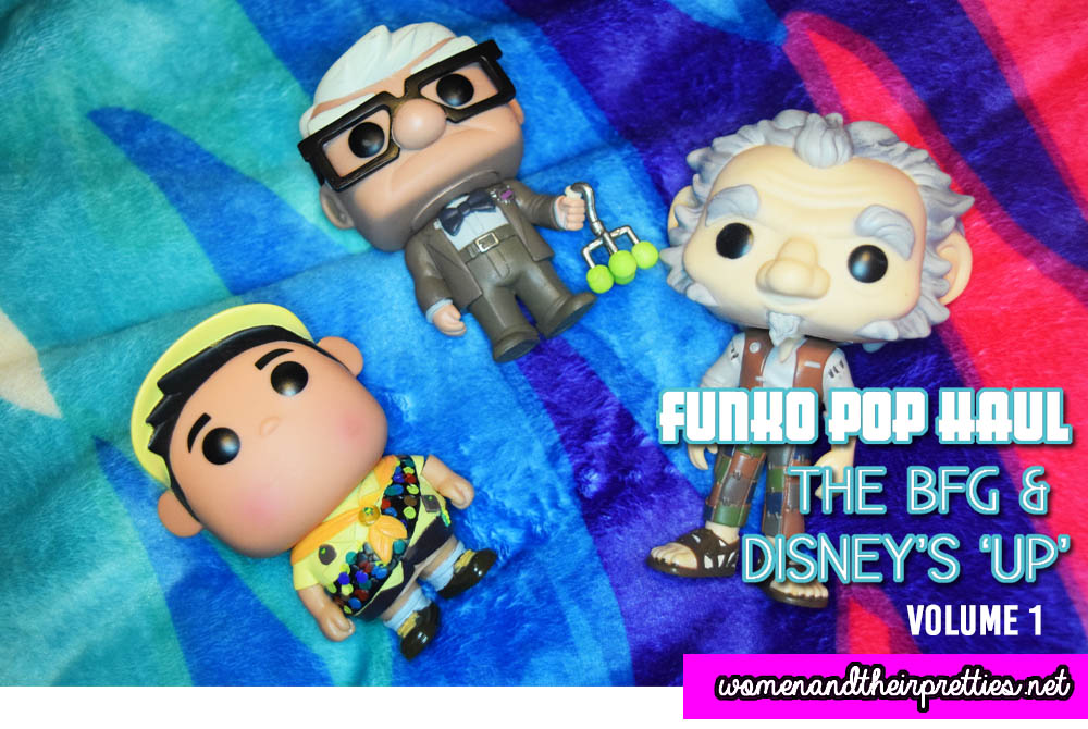 Funko Pop Haul Vol. 1 - The BFG and Disney's UP