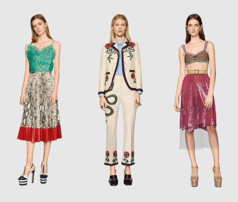 Gucci Spring 2016 Collection - Geek Fashion