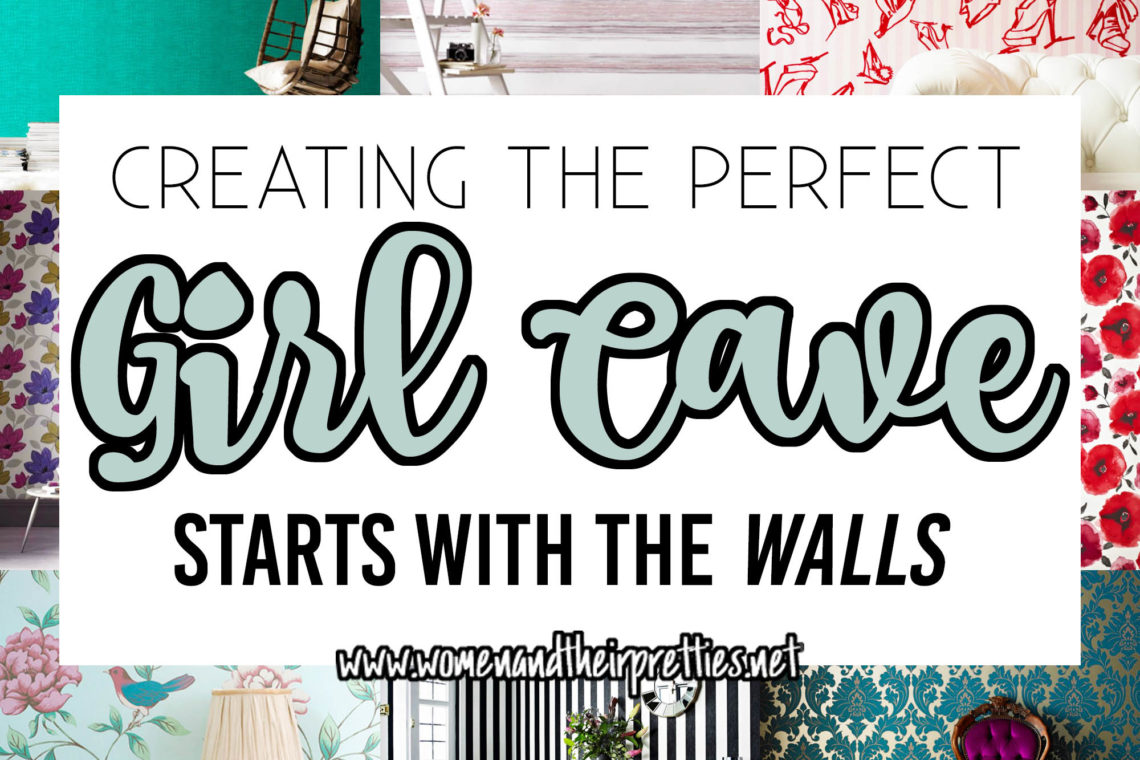 Looking to create the perfect Girl Cave? Check out these 9 wallpapers that are feminine, funky, and colorful! Plus, get 15% off with this Graham & Brown coupon code #GirlCave #HomeDecor #Goals