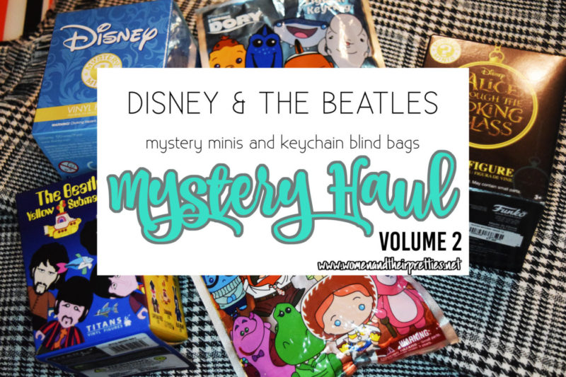 Check out my HUGE Mystery haul - we are reveal Disney Mystery Minis, The Beatles Yellow Submarine minis, Finding Dory & Inside Out Blind Bags, and an Alice Through The Looking Glass mystery mini #Funko #Geek