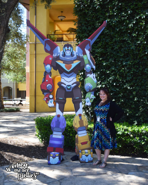 Photo with Voltron at DreamWorks