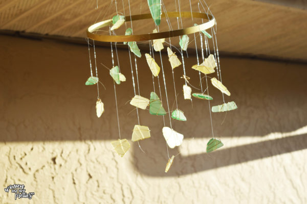 Sea Glass DIY Wind chime