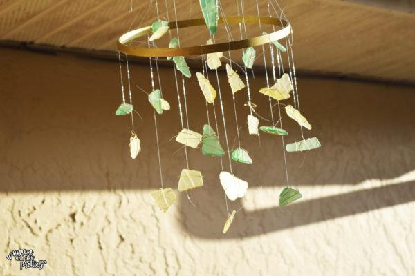 Sea Glass DIY Wind chime