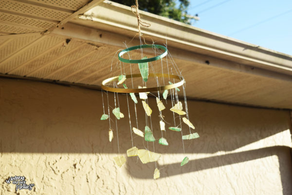 Seaglass The Choice inspired Wind Chime
