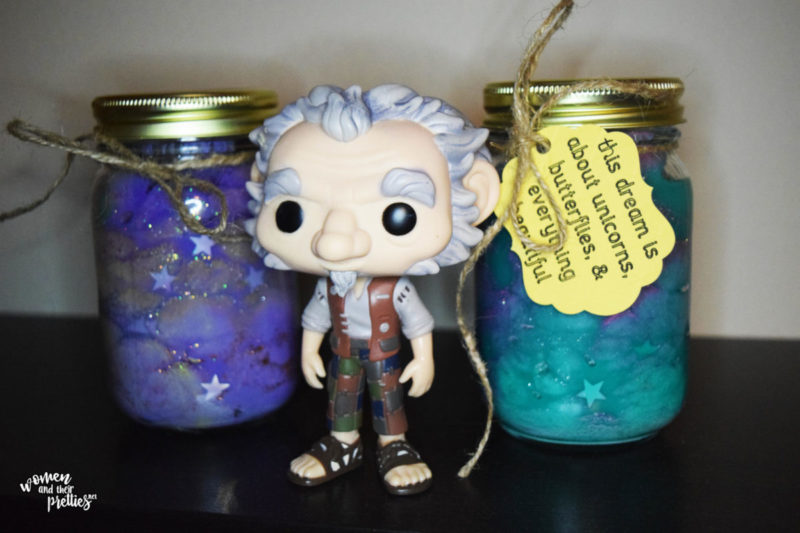 BFG Dream Jars DIY Tutorial