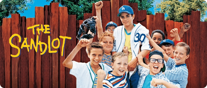 The Sandlot - 6 Movies on Netflix that 90s kids will love