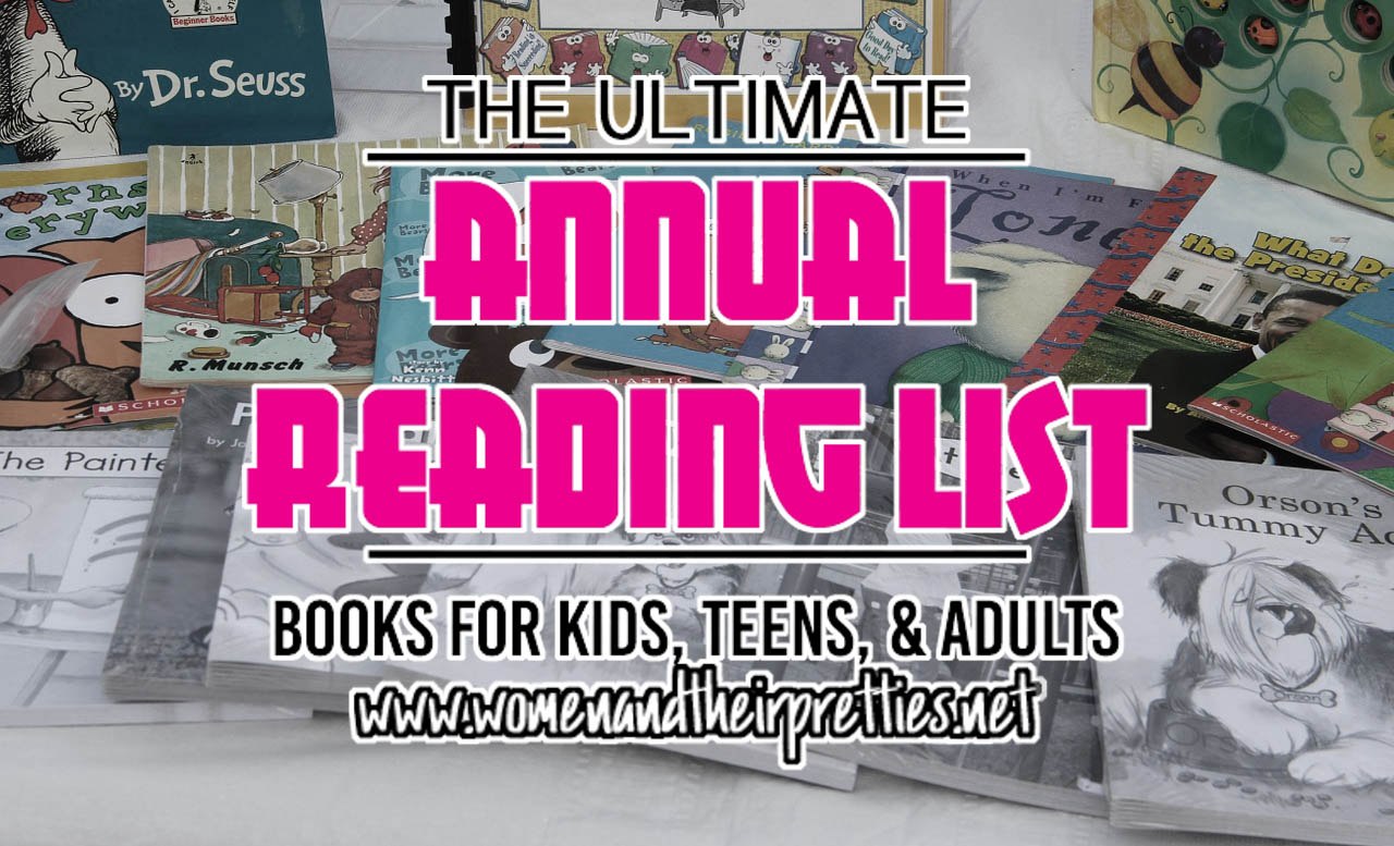 Ultimate Annual Reading List of 2016 - books for all ages