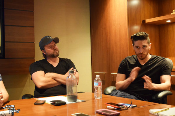 Voltorn Interviews Josh Keaton and Tyler Labine