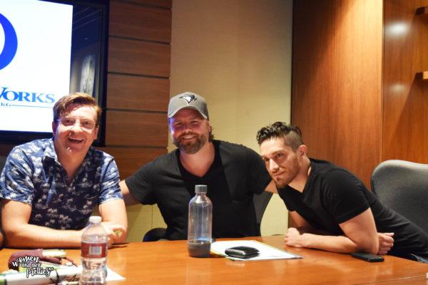 Voltorn Interviews - Rhys Darby, Tyler Labine, Josh Keaton