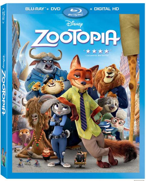 Zootopia Blu-ray
