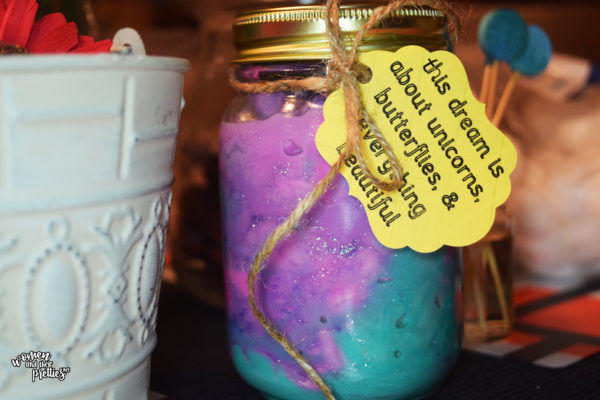 dream jar with a dream tag DIY BFG Dream Jars #TheBFG #DIY