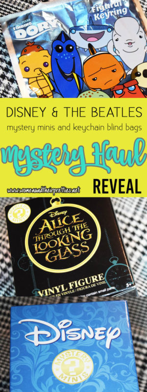 Check out my HUGE Mystery haul - we are revealing Disney Mystery Minis, The Beatles Yellow Submarine minis, Finding Dory & Inside Out Blind Bags, and an Alice Through The Looking Glass mystery mini #Funko #Geek