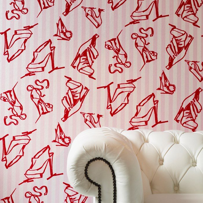 Looking to create the perfect Girl Cave? Check out these 9 wallpapers that are feminine, funky, and colorful! Plus, get 15% off with this Graham & Brown coupon code #GirlCave #HomeDecor
